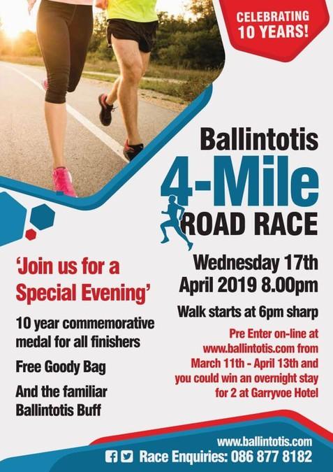 ballintotis-4-mile-road-race-flyer-2019